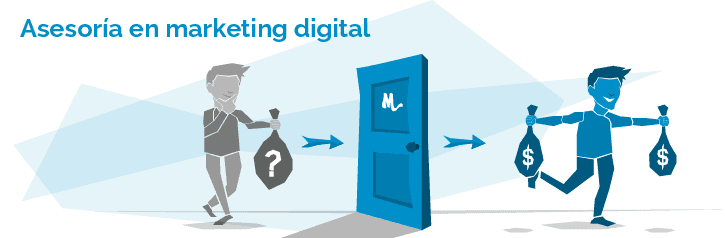 Persona mejorando sus ingresos con marketing digital
