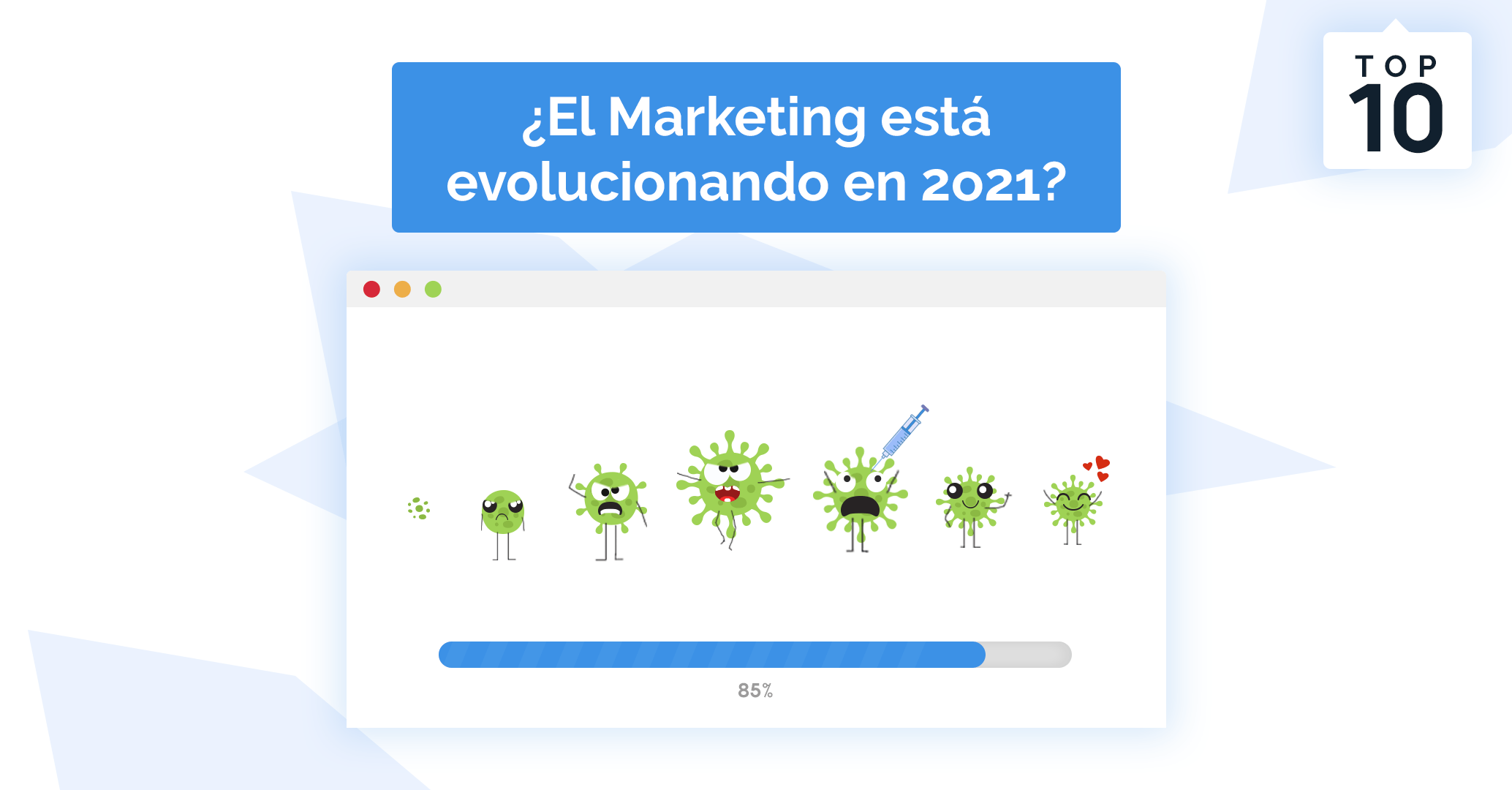 Top 10 trends del marketing digital para el 2021