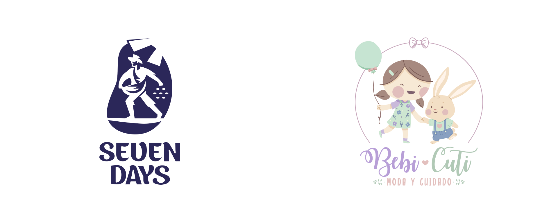 Manya branding para Seven Days y Bebicuti