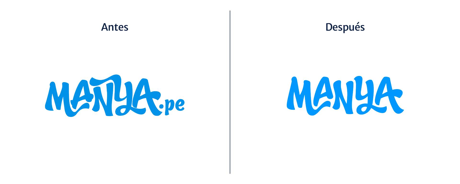 Manya rebranding Manya